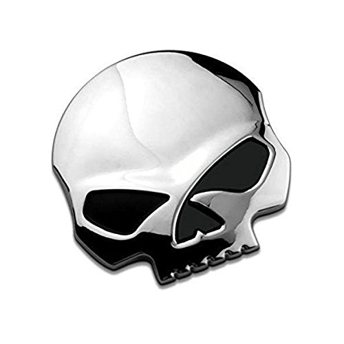 3D cranio del metallo auto & Moto Adesivi cranio emblema accessori adesivo automobile che designa le decalcomanie