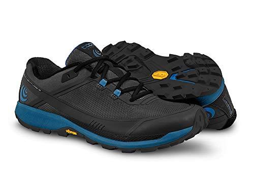 Topo Athletic M035, Zapatillas de Running para Hombre, Hombre, Zapatillas de Correr, M035-095-BLKBLU, Azul y Negro, 9 UK