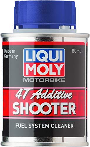 Liqui Moly 7837 - Combustible Sistema Limpiador, Motorbike, 4T, Shooter, E, 80 ml