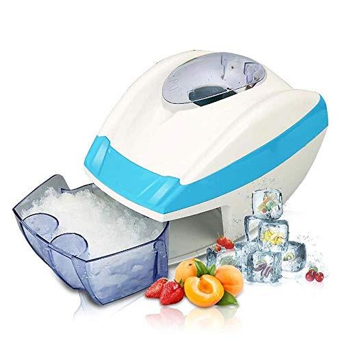 HIZLJJ Fully Automatic Ice Shaver Neve Cono Maker rasatura della Macchina del frantoio Veloce tritaghiaccio Regolabile, for la casa e Uso Commerciale