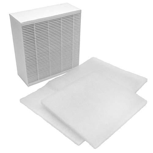 vhbw 3x Ersatz Luft-Filter Grobfilter + Feinfilter passend für Vallox ValloPlus 350 MV, 350 SC, 350 SE Lüftungsgerät