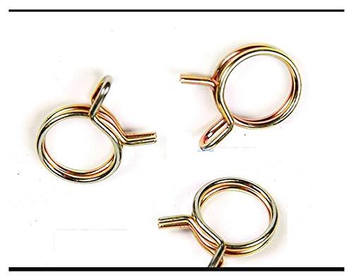 Clip de sujeción para tubo de manguera, 20pcs M6-M23 Línea de combustible Tubo de la manguera Clips de resorte Clips Kit de surtido para motocicletas Scooter ATV (Size : M16)