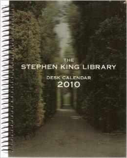 The Stephen King Library Desk Calendar 2010