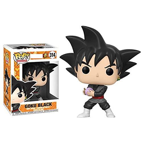 QIYV Pop Dragon Ball Super Kawaii Q Versión Nendoroid Figura De Anime Black Goku 314 # Figuras De Acción De Vinilo Pop En Caja Juguete 10Cm, Regalos De Cumpleaños para Niños