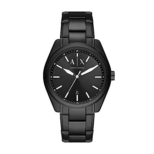 Armani Exchange Mens Analog Quartz Uhr mit Stainless Steel Armband AX2858