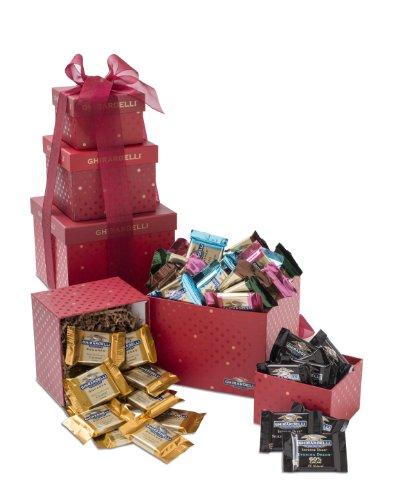 Ghirardelli Sentimental Chocolates Tower, 3 Count, 1.75 lb.