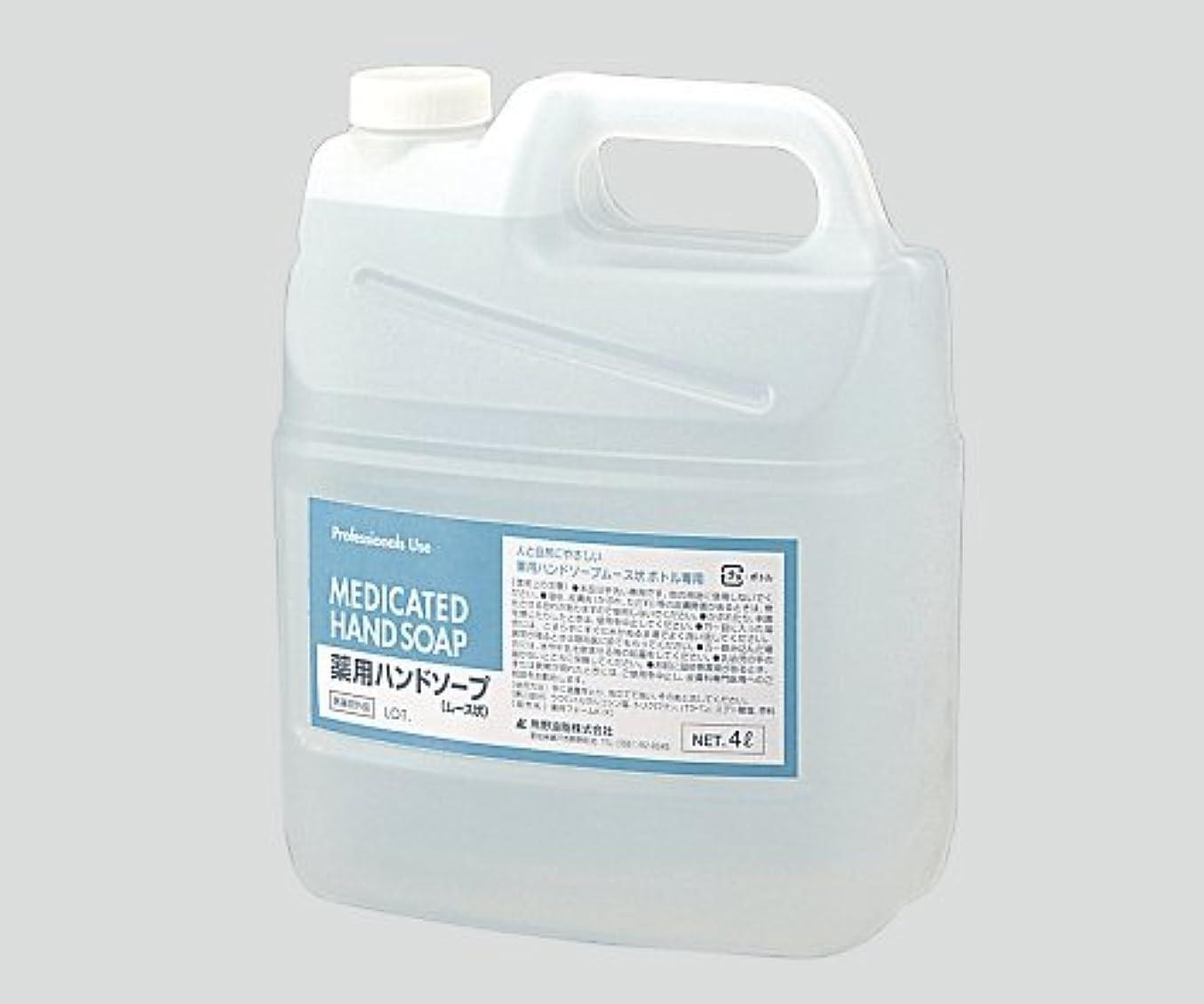 ボックスサンダルスリム8-6279-11セディア薬用ハンドソープ(泡タイプ)4L