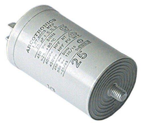 Home Parts Ltd–Condensatore universale per microfarad, 25UF, 400V 450V 500V