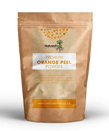 Natures Root Orangenschalenpulver 250g - Poren verstopfen   Kosmetik   Reinigung   Natürlich   Fettige Haare