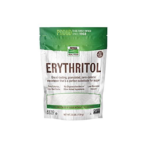 NOW Polvere Di Eritritolo Puro Al 100% - 1130 g