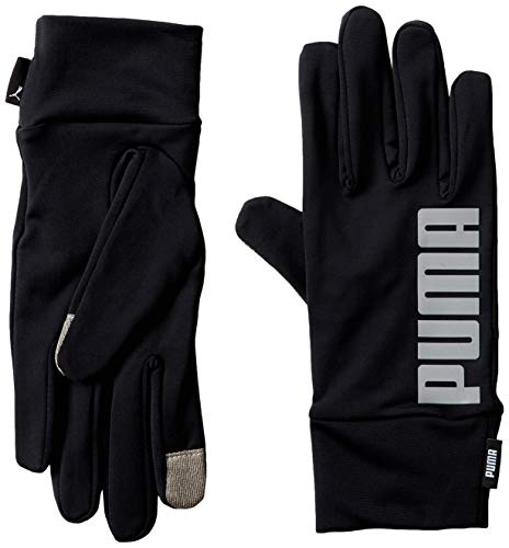 PUMA Handschuhe PR Performance Gloves, Puma Black-Reflective Silver, S, 41461