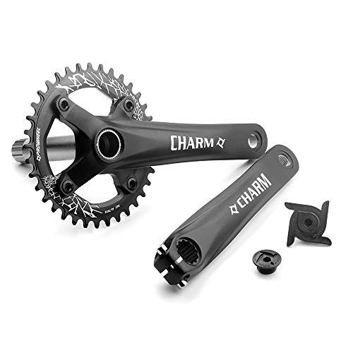 LICHUXIN Juego de la Bicicleta de la Bicicleta de montaña 170 mm, aleación de Aluminio Guila Izquierda y Derecha 104BCD36T Kit de Plato, MTB y Accesorios de modificación de Bicicletas de Carretera