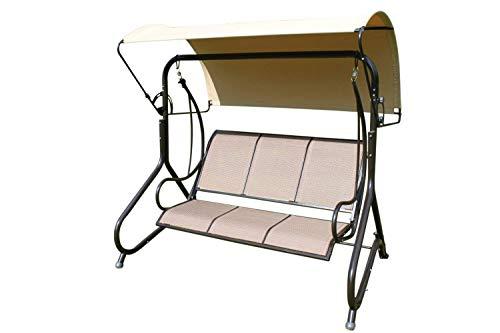 Garden Market Place Blenheim Heavy Duty Garden 3 Seater Swing Seat