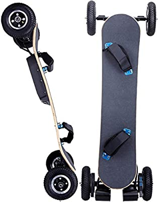 "WesternPacific 3300W Electric Off Road Skateboard Mountain Board Scooter w/Remote 8"" Tires"