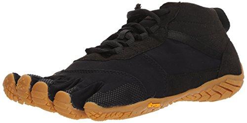 Vibram Five Fingers Men's V-Trek Trail Hiking Shoe (40 EU/8-8.5 US, Black/Gum)