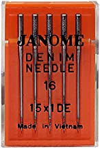 Janome Sewing Machine Needle Denim Size 16