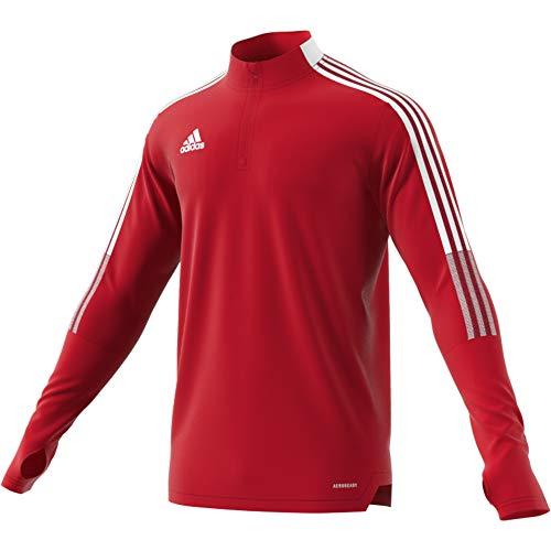 adidas TIRO21 TR Top Pullover, Mens, Team Power Red, S
