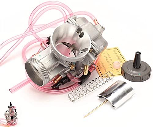 WPLHH / Compatible con carburador PWK Racing / 33 34 35 36 38 40 42 mm motocicleta Carb para Dirt Bike Motocross Go Kart.Scooter, ATV Quad Carburador (Color: KEI 33 mm)