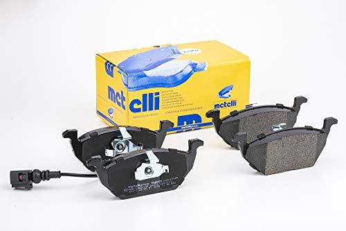 metelligroup 22-0211-2 Bremsbeläge, Made in Italy, Ersatzteile für Autos, ECE R90-zertifiziert, Kupferfrei