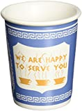 "Exceptionlab Inc. 0-Ounce Ceramic Cup ""We are happy to serve you"""