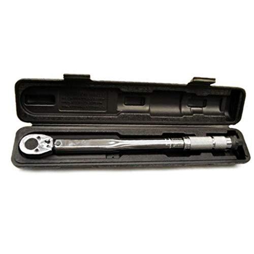 LLRYN 5-25nm 1/4 '' Llave de torsión Ajustable Transmisión Cuadrada Haga Clic en la Llave de la Mano de Ratchet Fácil de almacenar y Llevar