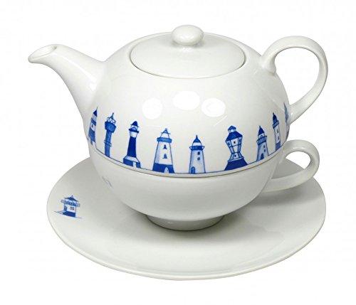 Cup und Mug Tea for One Leuchtturmkette 500ml