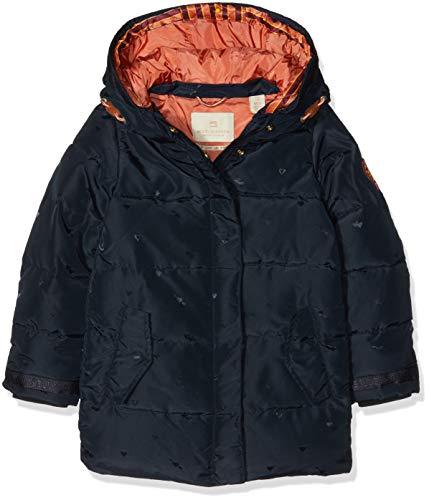 Scotch & Soda R´Belle Padded Jaquard Jacket with Double Hood Construction, Giacca Bambina, Blu (Night 002), 164 (Taglia Produttore: 14)