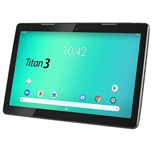 HANNSPREE Hannspad 133 Titan 3 SN14TP1B2A Android 9 Tablet 33,8 cm (13,3 pollici), 2 GB RAM, 16 GB eMMC, WiFi, Nero