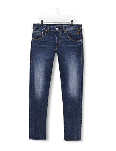 Herrlicher Herren Trade Denim Stretch Straight Jeans, Blau (Blue Vibe 672), W33/L32 (Herstellergröße:33)