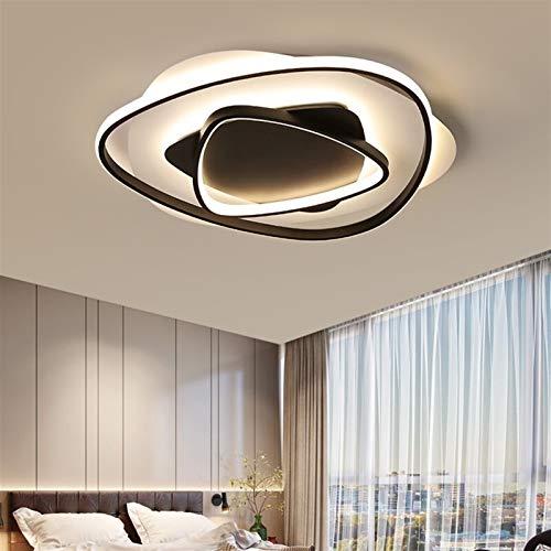 SHENLIJUAN Techo llevó la lámpara de luz for el balcón Comedor Corredor Dormitorio Pasillo Habitación Simple Moderna de la lámpara Creativa (Body Color : 45cm, Emitting Color : Remote)