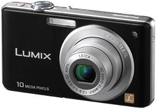 Panasonic Lumix DMC FS62EG K Digitalkamera (10 Megapixel, 4 fach opt. Zoom, 6,4 cm (2,5 Zoll) Display, Bildstabilisator) schwarz