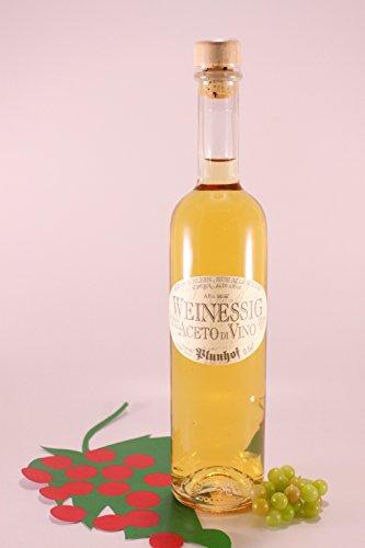 Aceto di vino bianco 50 cl. Alto Adige - Distilleria Zu Plun