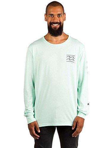G.S.M. Europe - Billabong Dual Unity Thé LS Shirt Chemise et Medium Mist Green