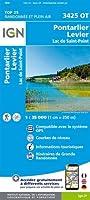 Pontarlier.Levier-Lac de St-Point 1:25 000