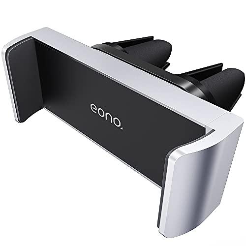 Amazon Brand – Eono Supporto Cellulare Auto Universale, Supporto Telefono Auto Accessori: Rotazione 360 Gradi Porta Cellulare per iPhone 12 11 Pro XS Max XR X 8, Huawei, Galaxy S10 S9, Etc - Argento