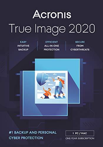Acronis True Image 2021 | Advanced | 1 PC/Mac | 1 Jahr | Cyber Protection-Lösung für Privatanwender| Integriertes Backup und Virenschutz mit 250 GB Cloud Storage | iOS/Android | Box-Version