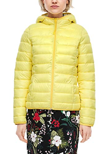 Q/S designed by - s.Oliver Damen 510.12.002.16.150.2005714 Steppjacke, Yellow, S