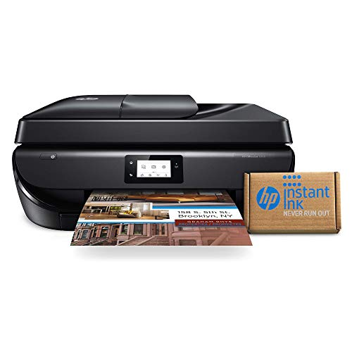 HP OfficeJet 5260 Wireless All-in-One Printer – includes 2 Years of Ink Delivered to Your Door, Works with Alexa (Z4B13A)