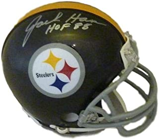 Jack Ham Autographed Signed Pittsburgh Steelers mini Helmet w/HOF 88 - JSA Certified