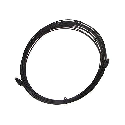 JENOR Cable de audio óptico digital para Toslink SPDIF, DVD, CD, 0,5...