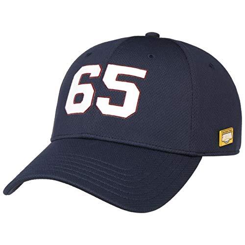 Stetson Cappellino 65 Donna/Uomo - Curved Brim cap Berretto Baseball Snapback Snapback, con Visiera Primavera/Estate - Taglia Unica Blu Scuro