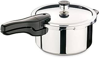 Presto 4-Quart Stainless Steel Pressure Cooker, 01341 (1)