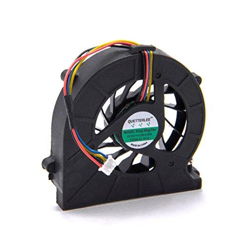 vhbw Ventilador CPU/GPU con Clavija de 4 Pines Compatible con Toshiba Satellite L660, L635 Notebook, portátil
