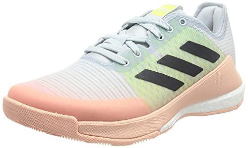 adidas Crazyflight W, Zapatillas Deportivas Mujer, AZUHAL/Tinley/AMALRE, 36 2/3 EU