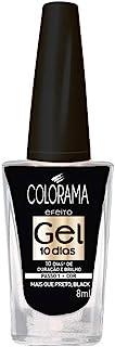 Esmalte Colorama Efeito Gel Mais Que Preto, Black!, 8ml