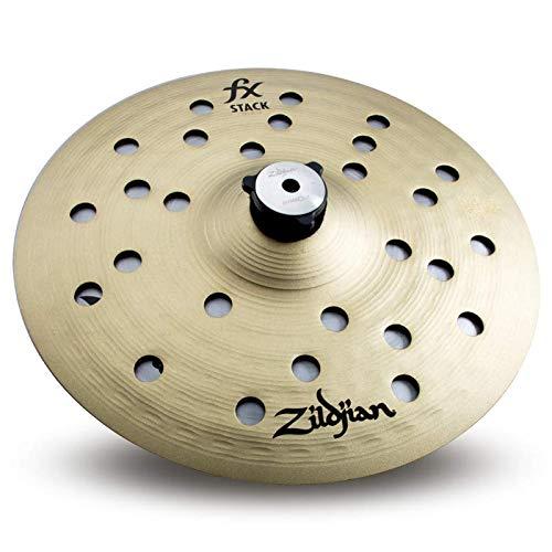 Zildjian Par de empilhamento FX de 25,4 cm com suporte