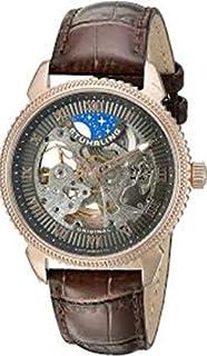 ساعة كاجوال للرجال من ستوهرلنج - جلد، بني، 835.04