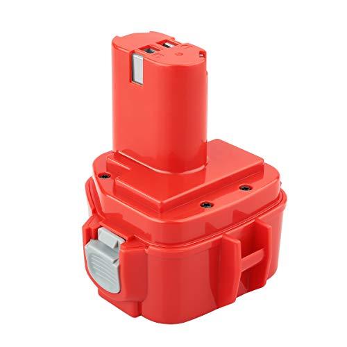 POWER-XWT 12V 3,0 Ah NiMH Batteria Ricambio per Makita Batteria 1220 1222 PA12 1233S 1234 1233 1235 193138-9 193157-5 Batteria per utensili