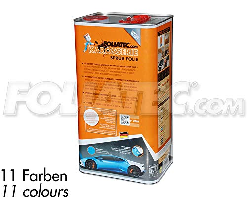 Foliatec F20862 Car Body Spray Film Peinture à Vaporiser, Brun Frozen Métallique Matt