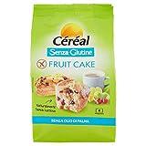 Céréal Tortine con Frutta Secca senza Glutine Fruit Cake, 200g...